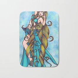 Aquarius Belly Dancer Bath Mat