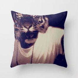 THUNDER TRIBE Throw Pillow