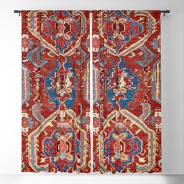 Armenian Manisa Province West Anatolian Dragon Rug Print Blackout Curtain