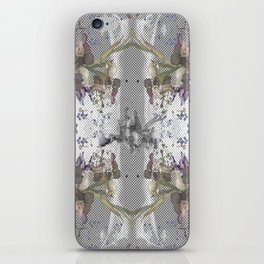 Halftone X-ray Floral iPhone Skin