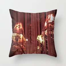 Torn and Frayed Throw Pillow