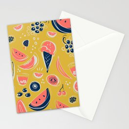 Summer Food Fiesta Stationery Cards