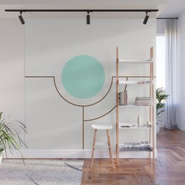 Balm 05 // ABSTRACT GEOMETRY MINIMALIST ILLUSTRATION by Wall Mural