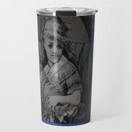 Mixed Media Ephemera Acorn By Moon Willow Designs Travel Mug