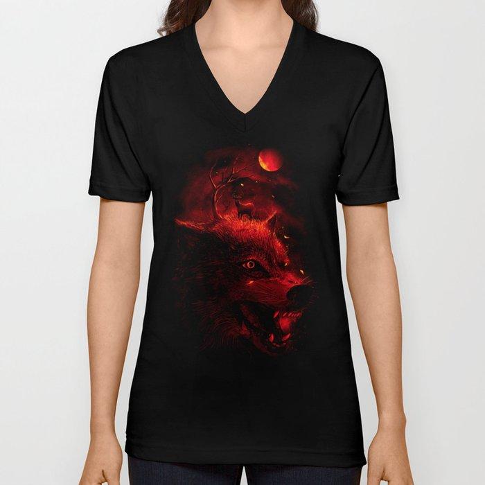 Red Dream Unisex V-Neck