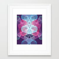 psychedelic art Framed Art Prints featuring Psychedelic by Scar Design