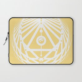 Radiant Abundance (light yellow-white) Laptop Sleeve
