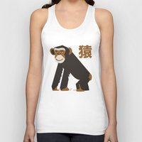 ape Tank Tops featuring APE by Teekeetree