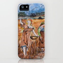 The First Harvest iPhone Case