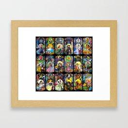 A Small World... Framed Art Print