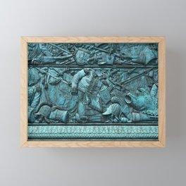 Vendom Column Framed Mini Art Print