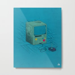 Old Video Game Console Metal Print