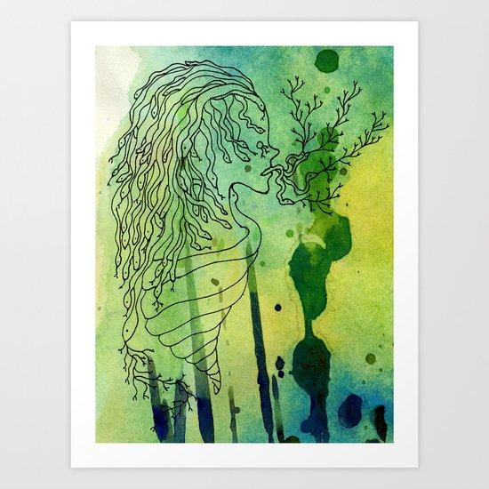 Spoiled Serpents Art Print