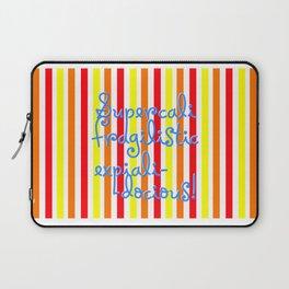 supercalifragilisticexpialidocious! I Mary Poppins Laptop Sleeve
