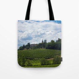 vineyards in France Tote Bag
