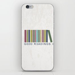 Good Readings are priceless iPhone Skin