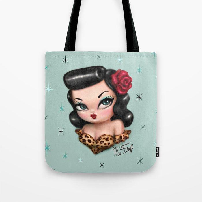 Rockabilly Baby Doll Tote Bag