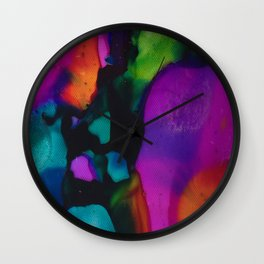 Colors of the Night Wall Clock