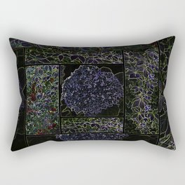 abstract patchwork Rectangular Pillow