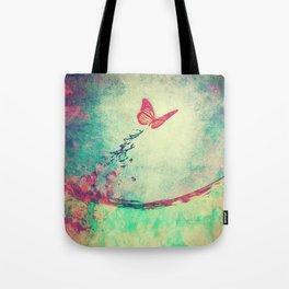 Waterfly II Tote Bag