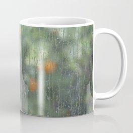 Rainy Oranges Coffee Mug