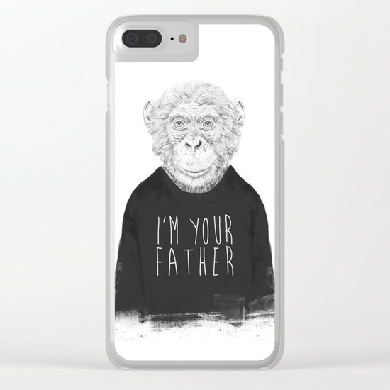 I'm your father Clear iPhone Case