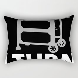 BBQ - I Turn Grills On Rectangular Pillow