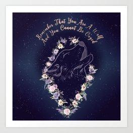 ACOWAR Wolf Art Print