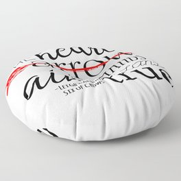 THE HEART IS AN ARROW | SIX OF CROWS BY LEIGH BARDUGO Floor Pillow