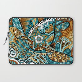 Topsy-Turvy Turtle Laptop Sleeve