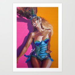 bey:BRAZILIAN Art Print