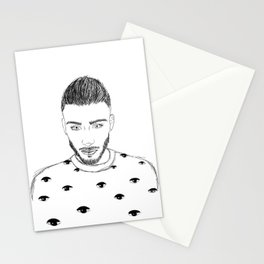 Zayn Malik Stationery Cards