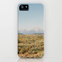 Grand Teton Landscape iPhone Case