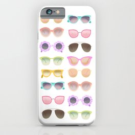 Colorful Sunglasses iPhone Case