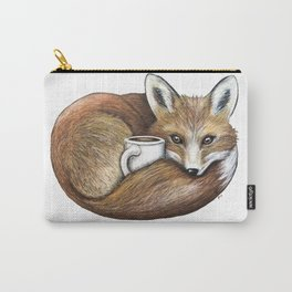 """""""Foxy Latte"""" - Java Jungle collection Carry-All Pouch"""
