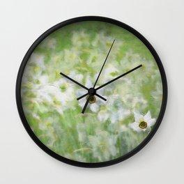 Jonquils Wall Clock