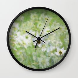 Jonquils Wall Clock
