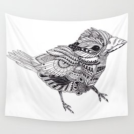 Ornate Bird Wall Tapestry