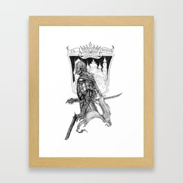 De Sanguine Natus Framed Art Print