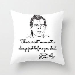 Stephen King quotes Throw Pillow