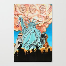 Welcome to America Canvas Print