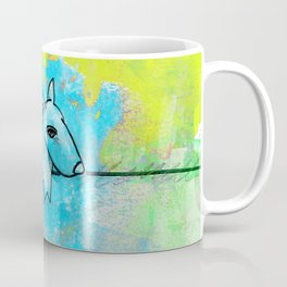 Dog No.1k by Kathy Morton Stanion Coffee Mug