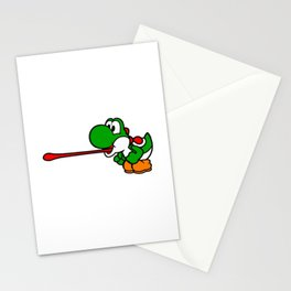 Yoshi Laser Stationery Cards