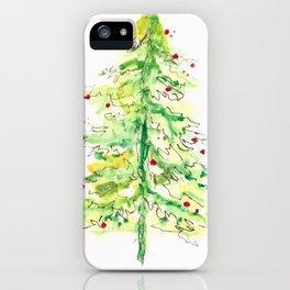 Fa La La La Tree iPhone Case