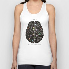 Your Brain On Video Games Unisex Tank Top