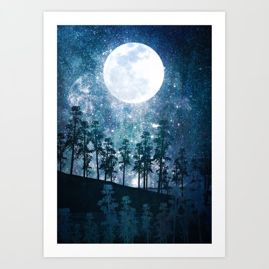A Forest of Stars Art Print