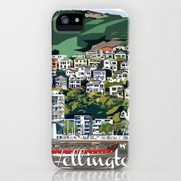 Wellington Harbour, NZ iPhone Case