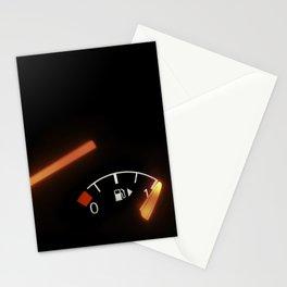 Fuel Gauge, Full Tank, Car Fuel Display Stationery Cards