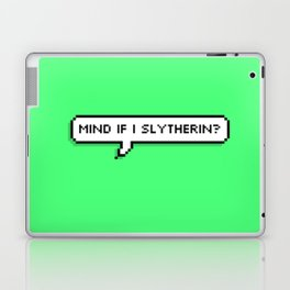 mind if i slytherin? Laptop & iPad Skin