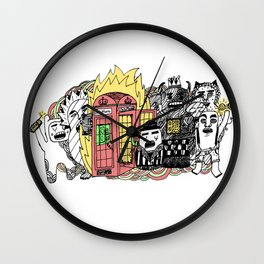 Call It What You Want Wall Clock
